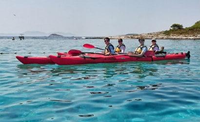 Small group kayaking from Hvar