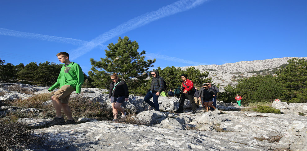 Mosor hiking