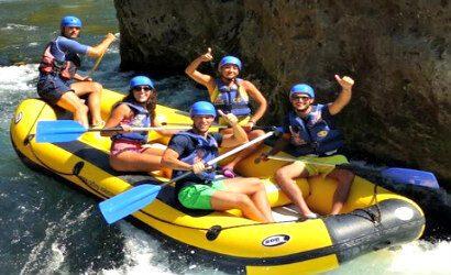 Canyon Cetina River rafting