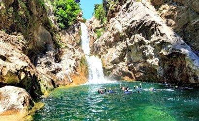 Cetina River canyoning