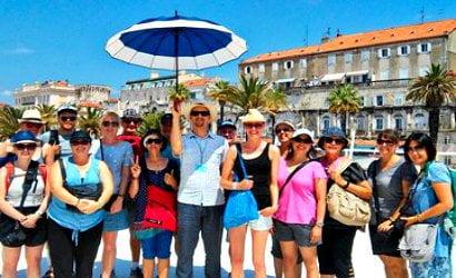 Diocletian walking tour
