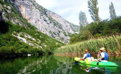 Kayaking and snorkeling in Omis