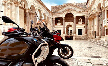 Motorcycle tour from Split