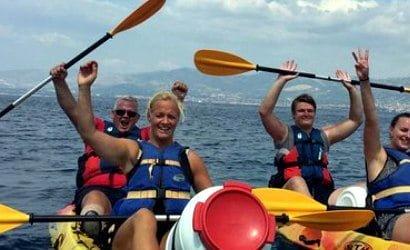 Split kayaking 3 hours tour