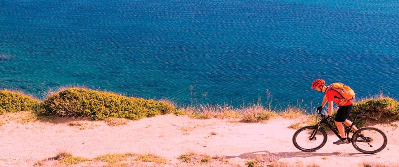 Dalmatian coast cycling